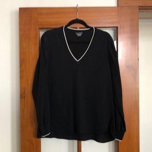 "Black Vince ""Jersey"" blouse"